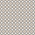 Abstract Vector Geometric Pattern Of Straight Lines and Rhombuses On a white background. Seamless Linear
