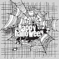 Abstract vector halloween grunge design card background Stock Photo
