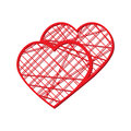 Abstract vector heart . Element for frame. Vector illustration for Valentines Day. Love concept. Cute happy wallpaper. Good idea f