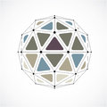 Abstract Vector Low Poly Objec...