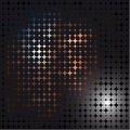 Abstract vector mosaic dark illustration Stock Images