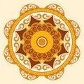 Abstract vector ornament Royalty Free Stock Images