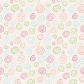 Abstract vector retro pattern - color swirls Royalty Free Stock Photo