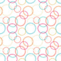 Abstract vector seamless pattern lacy circles pastel tones Stock Photos