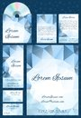 Abstract vector set for business.