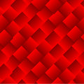 Abstract vector squares red background