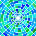 Vector stained-glass mosaic background