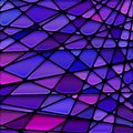 vector stained-glass mosaic background Royalty Free Stock Photo