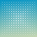Abstract vector techno dots blue green background Royalty Free Stock Photo