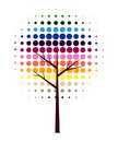 Abstract vector tree Stock Photos