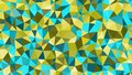 Abstract vector trendy colorfull triangular pattern. Modern polygonal background