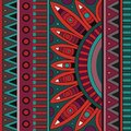 Abstract vector tribal ethnic background pattern geometric Stock Images