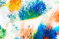 Abstract vibrant acrylic art background