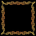 Abstract vintage border frame. Royalty Free Stock Photos