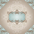 Abstract vintage frame Royalty Free Stock Image