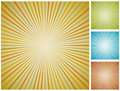 Abstract vintage starburst background. Royalty Free Stock Photo