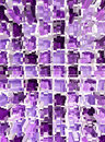 Abstract violet mosaic dimension background Stock Images