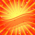 Abstract vivid orange background Stock Photography