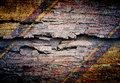 Abstract the wall old grunge for background Royalty Free Stock Photos