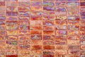 Abstract wall tiles Stock Image