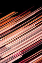 Abstract warm lines background Stock Photography