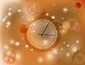 Abstract watch time background vector can be use as banner also Royalty Free Stock Photography