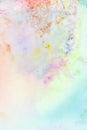 Abstraktné akvarel