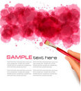 Abstract watercolor background. Vector Stock Photos