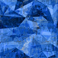 Abstract watercolor and digital painting polygonal backdrop for