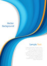 Abstract wave background blue with blue vector Royalty Free Stock Photo