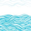 Abstract wave background file eps format Stock Photography