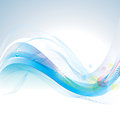 Abstract wave background smooth lines Stock Image