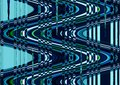 Abstract wave distortion blue color wallpaper distort green white background Stock Image