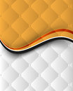 Abstract wave elements, chrome seamless pattern Stock Image