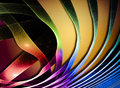 Abstract Wave. Fantastic colorful fractal Design Royalty Free Stock Photo
