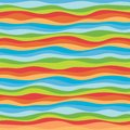 Abstract wavy background design creativity of colorful waves vector illustration Stock Images