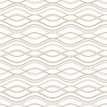 Abstract wavy lines background seamless pattern Royalty Free Stock Photography