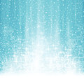 Abstract white blue winter Christmas background with snowfall Royalty Free Stock Photo