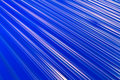 Abstract white light  line on blue Royalty Free Stock Photo