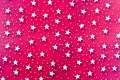 Abstract White Stars Background Stock Photography