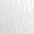 Abstract white wavy background design creativity of vertical waves vector illustration eps Royalty Free Stock Images