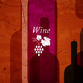 Abstract wine background illustration of an Royalty Free Stock Image
