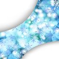 Abstract Winter background. Stock Photography