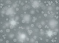 Abstract winter background bokeh. Royalty Free Stock Photo