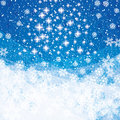 Abstract winter Christmas background Royalty Free Stock Photography