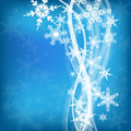 Abstract winter design Royalty Free Stock Photo