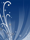 Abstract winter design Stock Images
