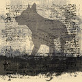 Abstract Wolf Background Royalty Free Stock Photo