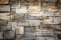 Abstract of wood shingles background Royalty Free Stock Photo
