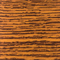 Abstract wood texture with focus on the wood's grain. Mahogany w Royalty Free Stock Photo